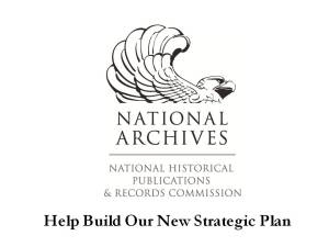 Help Build Our New Strategic Plan